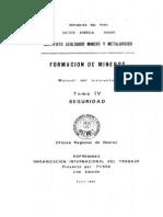 Boletin Nº 002- Formacion de Mineros- Tomo IV