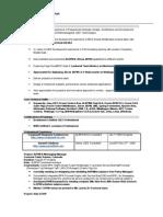 ALBPM/OBPM/Jboss JBPM/Lombardi TeamWorks-Middleware consultant