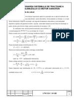 Capitolul 2 -Dimensionarea sistemului de tractiune a troleibuzului cu motor asincron.doc