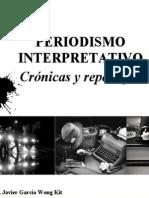 PERIODISMO INTERPRETATIVO - Crónicas y reportajes 2014