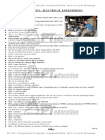 PT PowerPack 2013 Support Material - Interview Questions on Electronics, Electrical Engineering
