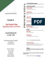 Programma incontro ZFU del 28/02/2014