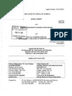 2014 02 03 Ernst v ERCB Appeal Factum Jessica Ernst vs Encana hydraulic fracturing lawsuit