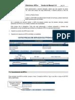 Cancelamento de Notas Fiscais - NFS São Paulo