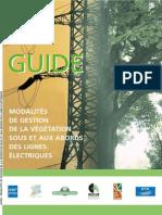 Brochure Guide Gestion Sous Lignes Electriques