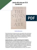La historia del arte por EH Gombrich - 5 estrellas reseña del libro