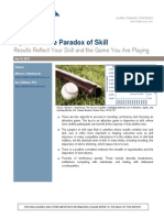 Alpha and the Paradox of Skill (MMauboussin_ July '13)