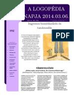 Logopédia Napja 2014.03.06. (FPSZ)