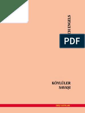 Friedrich Engels Koyluler Savasi