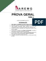 PSU 2012 Prova Geral