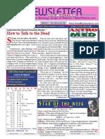 ASTROAMERICA NEWSLETTER DATED JANUARY 28, 2014