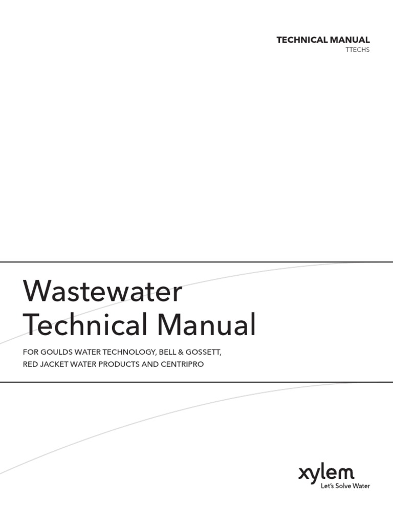 Wastewater Technical Manual Sanitary Sewer Horsepower Centripro Pump Control Wiring Diagram