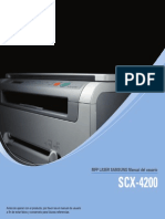 Samsung SCX-4200 Manual