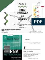 RNA Izolasyonu