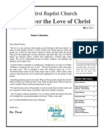 Discover the Love of Christ March 2014