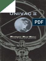 UNIVAC II (Remington Rand., 1957)