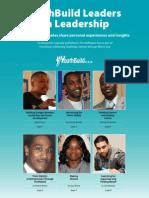 youthbuild leaders on leadership