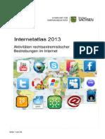 Rechtsextremistische Aktivitäten im Internet 2013