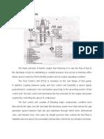 Hydromechanical Fuel Control