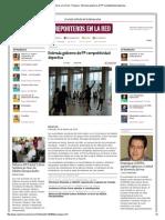 26-02-2014 'Estimula gobierno de PP competitividad deportiva'.