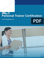 ACT Personal Trainer Certification Textbook v1 2
