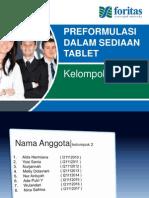 Presentasi preformulasi