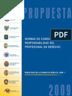 0.1.PUCP Normas de Conducta Del Abogado 2009 v37