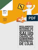 RG-SSL-01 Reglamento Interno de Seguridad y Salud Laboral