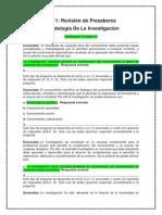 Act. 1 Revisión de Presaberes - {Metodologia De La Investigacion}