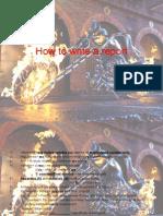 How to Write a Report (physics/fizik report formula)