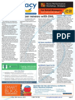 Pharmacy Daily for Fri 28 Feb 2014 - Pfizer renews with DHL, Possible e-S8 mandate, Blackmores profit down, PCEHR system available and much more
