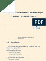 Contas Nacionais Problemas de Mensuracao Paulani 2007