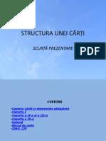 Structura Unei Carti