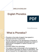 Vowels in English 2794961