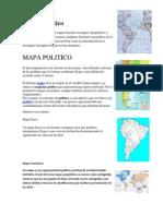 Mapa temático, fisico, etc
