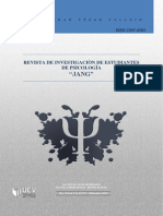 Revista de investigaciòn en estudiantes de Psicologìa 02-2013-II