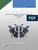 Revista de Investigacion de Estudiantes de Psicologia 01