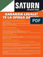 garanzia italia  saturn  garanzia legale  2 anni