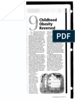 child obesity reversed article