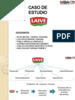 Presentación MBA Caso Laive