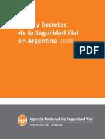 Leyes y Decretos Sobre Seguridad Vial 2008