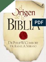 Philip Wesley Comfort - El Origen de La Biblia