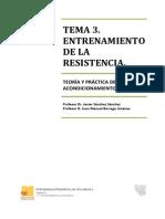 Tema 3. Entrenamiento de La Resistencia