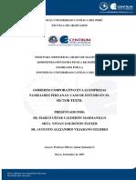 Calderon Goldstein Vejarano Sector Textil