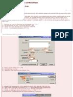 Macromedia Flash (ActionScript 2.0) Menú para sitio web