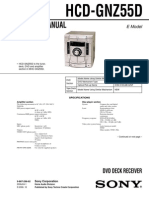 Sony HCD-GNZ55D Service Manual v1.1