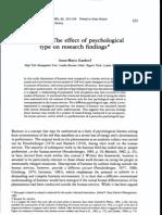 Journal OfOccupational Psychology (1989), 62, 223-234 © 1989 the British