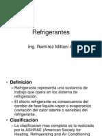 Tema 7 Refrigerantes