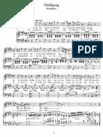 Schubert - Huldigung (Kosegarten)