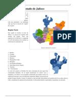 Regiones Jalisco